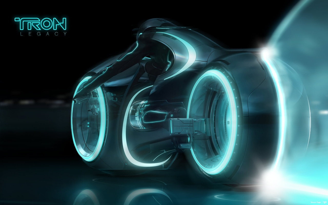 Tron Legacy Light Cycle Play Backgrounds