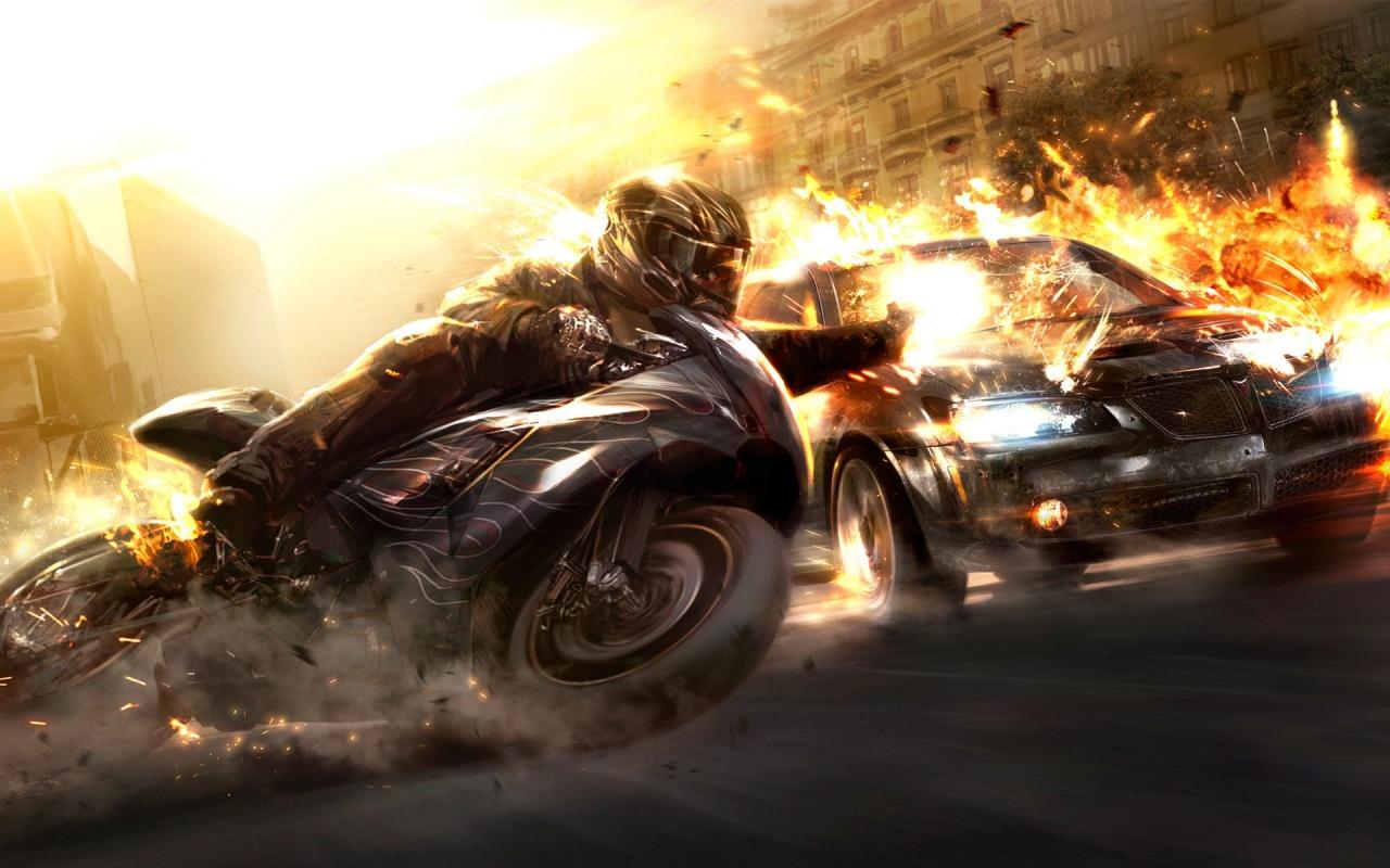 Wheelman Bike Racing Backgrounds
