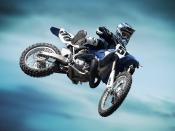 2008 Yamaha YZ250CC Race Backgrounds