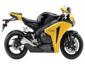 2009 Honda CBR 1000RR Yellow Backgrounds