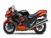 2009 Kawasaki Ninja ZX 14 Backgrounds