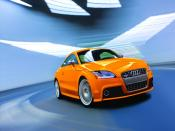2009 TTS Coupe Orange Backgrounds