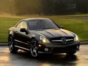 2011 Mercedes Benz SL550 Backgrounds