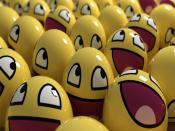 3D Smiley Face Backgrounds