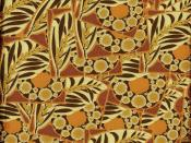 African Pattern Background