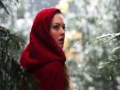 Amanda Seyfried In Winter Backgrounds