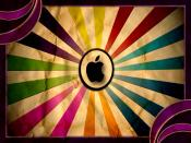 Apple Vintage Colorful Backgrounds