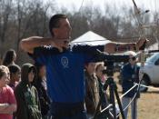 Archery Sport Demonstration Backgrounds
