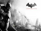 Arkham City Poster Backgrounds