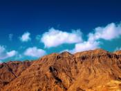 Ataqa Mountains In Middle Desert Backgrounds
