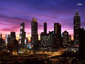 Atlanta Sunset Backgrounds