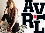 Avril Lavigne Bulb Wire Backgrounds