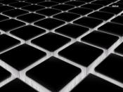 B&W Cube Floor Backgrounds
