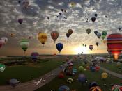Balloon Festival Backgrounds