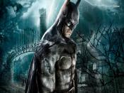 Batman Arkham Asylum Backgrounds
