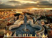 Beautiful Piazza San Petro Backgrounds