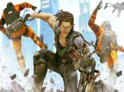 Bionic Commando 2 Game Backgrounds