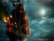 Blackbeard Ship POTC4 Backgrounds