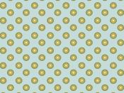 Blue Yellow Dots Backgrounds