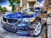 BMW Car HDR Backgrounds