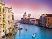 Boat Ride In Venice Backgrounds