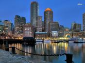 Boston Skyline Backgrounds
