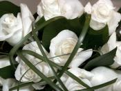 bouquet white a flowers Backgrounds