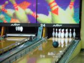 Bowling Ball Looking Good for a Strike Backgrounds