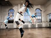 Break Dance In Air Backgrounds