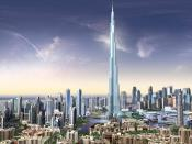 Burj Dubai Skyscrapers UAE Backgrounds