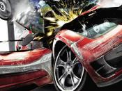 Burnout Paradise Crashing Car Backgrounds