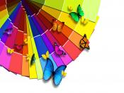 Butterflies Grouping Backgrounds