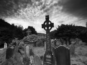 Cemetery Land Backgrounds