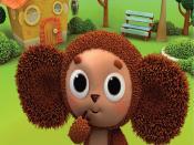 cheburashka, baby cartoon Backgrounds