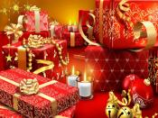 Christmas Gifts Background Desktop Backgrounds