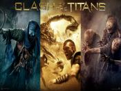 Clash Of The Titans 2010 3D Movie Backgrounds