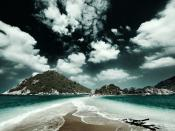 Cloudy Two Oceans Backgrounds