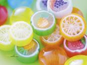 Colorful and Pastel Sweet Candies Backgrounds