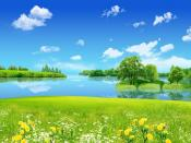 Creative Clear Summer Bright Day Backgrounds