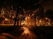 Dark Park Night Backgrounds