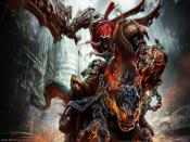 Darksiders Wrath Of War Game Backgrounds