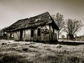 Decayed Old House Backgrounds