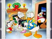 Donald Christmas Spots Backgrounds