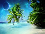 Dream Island Beach Backgrounds