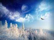 Dreamy Winter Backgrounds