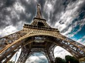 Eiffel Tower HDR Backgrounds