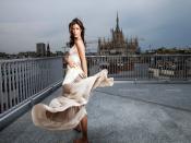 Elisabetta Canalis Building Top Backgrounds