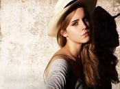 Emma Watson Straight Look Backgrounds