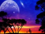 Enjoying Eve Nature Backgrounds