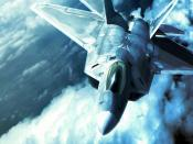 F 22 Raptor In Ace Combat Backgrounds
